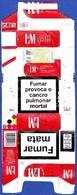 Portugal - LM Red Label / Fábrica Tabacos Micaelense, Ponta Delgada Açores - Empty Tobacco Boxes