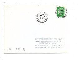 OBLITERATION DE SAINT ALYRE D'ARLANC PUY DE DOME 1971 - 1961-....