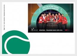 Kroatië / Croatia - Postfris / MNH - FDC Sheet Winnaar Davis Cup 2019 - Kroatië