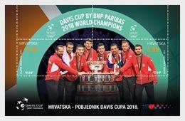 Kroatië / Croatia - Postfris / MNH - Sheet Winnaar Davis Cup 2019 - Kroatië