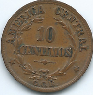 Costa Rica - 1929 - 10 Centimos - KM170 - Costa Rica