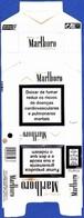 Portugal - MARLBORO Gold / Fábrica Tabacos Micaelense,  Ponta Delgada Açores - Empty Tobacco Boxes