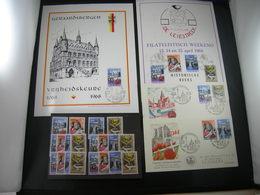 "BELG.1968 1448 1449 1450 & 1451 FDC 's & Phila Cards & Serie 5 X (2.6€ Fac.plakw): "" Historische / Historique Serie ""  "" - FDC"