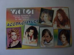 """Cartolina Pubblicitaria """"VICTOR ACCONCIATURE SALERNO"""" - Advertising"""
