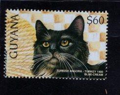 740905736 POSTFRIS  MINT NEVER HINGED EINWANDFREI SCOTT 3102C DOMESTIC CATS TURKISH ANGORA - Guyane (1966-...)