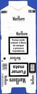 Portugal - MARLBORO Gold / Fábrica Tabacos Micaelense,  Ponta Delgada Açores - Empty Cigarettes Boxes