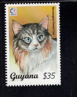 740907320 POSTFRIS  MINT NEVER HINGED EINWANDFREI SCOTT 2945A DOMESTIC NORWEGIAN FOREST CAT - Guyane (1966-...)