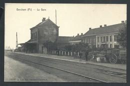 +++ CPA - BERCHEM - La Gare - Statie - Carte Animée  // - Antwerpen