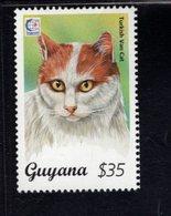 740907989 POSTFRIS  MINT NEVER HINGED EINWANDFREI SCOTT 2945H DOMESTIC CAT TURKISH VAN - Guyane (1966-...)