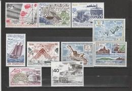 TAAF: Poste Aérienne N°95 Au N°104 (YT) ** (MNH) - Tierras Australes Y Antárticas Francesas (TAAF)