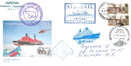"""M60 Russia 2003 Nuclear Icebreaker """"Yamal"""". Cruise To The North Pole (1st Cruise) - Polar Flights"""