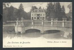 +++ CPA - Environs De Bruxelles - Château Mussain à SAINTES - Nels Série 11 N° 249   // - Tubeke