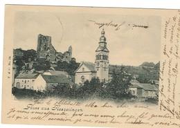 Luxembourg. Gruss Aus Hesveringen. édit T&C N°24. Datée 1905. Marque Du Tampon Postal En Creux. Bon état. - Cartes Postales