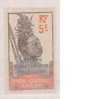 GABON      N° YVERT   :    91  NEUF SANS  CHARNIERES     ( NSCH 1/10) - Unused Stamps