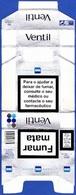 Portugal - SG VENTIL / Fábrica Tabacos Micaelense,  Ponta Delgada Açores - Empty Cigarettes Boxes