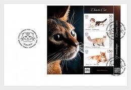 Kirgizië / Kyrgyzstan - Postfris / MNH - FDC Sheet Cats 2019 - Kirgizië