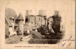 CPA Bourbon-L'Archambault Intérieur Du Château - Châteaux D'eau & éoliennes