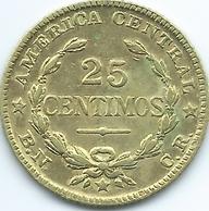 Costa Rica - 1944 - 25 Centimos (KM181) Brass Coin - Costa Rica