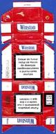 Portugal - WINSTON / Fábrica Tabacos Micaelense, Ponta Delgada Açores - Empty Tobacco Boxes