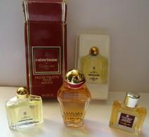 4 Miniatures De Collection - Miniatures De Parfum