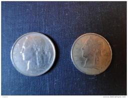 Belgique 1963 Et 66 2 Pièces De 5 Fr  Belgique Et Belgie - 05. 5 Francs