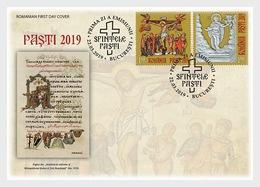 Roemenië / Romania - Postfris / MNH - FDC Pasen 2019 - 1948-.... Républiques