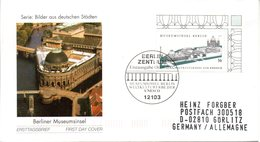 "BRD Schmuck-FDC: ""Museumsinsel, Berlin"", Mi.2274 ESSt 8.8.2002 BERLIN ZENTRUM - [7] République Fédérale"