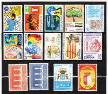 LKA222 SPANIEN 1984 MICHL 2618/26 + 2632/34 + 2636/37 ** Postfrisch Siehe ABBILBUNG - 1931-Heute: 2. Rep. - ... Juan Carlos I