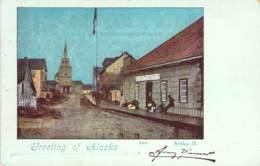 Greeeting Of Alaska Sitka II. 1899 AKS - Gruss Aus.../ Grüsse Aus...