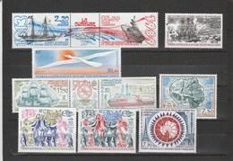 TAAF: Poste Aérienne N°105 Au N°114 ** (MNH) - Collections, Lots & Series