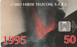 """Cape Verde - Volcano: """"VULCÃO Em ERUPÇÃO Ilha Do FOGO"""" - Kaapverdische Eilanden"""