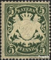 Bavière 75 (complète.Edition.) Neuf Avec Gomme Originale 1911 Etat Emblem - Bavaria