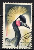 GUINEA - 1962 - Crowned Crane - USATO - Guinea (1958-...)