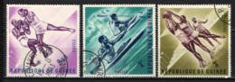 GUINEA - 1963 - VERSO LE OLIMPIADI - USATI - Guinea (1958-...)