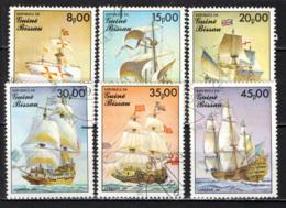 GUINEA BISSAU - 1985 - ANTICHI VELIERI - USATI - Guinea-Bissau
