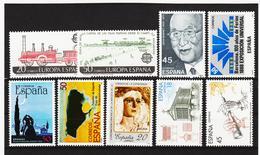 LKA227 SPANIEN 1988 MICHL 2828/34 + 2836/37 ** Postfrisch Siehe ABBILBUNG - 1931-Heute: 2. Rep. - ... Juan Carlos I