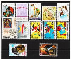LKA228 SPANIEN 1988 MICHL 2838/42 + 2844/49 ** Postfrisch Siehe ABBILBUNG - 1931-Heute: 2. Rep. - ... Juan Carlos I