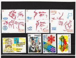 LKA229 SPANIEN 1988 MICHL 2850/58 + 2863 ** Postfrisch Siehe ABBILBUNG - 1981-90 Ungebraucht