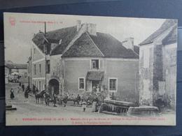 MORSANG SUR ORGE : MANOIR, ELEVEE PAR LES MOINES DE L'ABBAYE St MAGLOIRE LEZ PARIS- A DROITE FONTAINE ST JEAN - Morsang Sur Orge