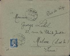 Grand Liban YT 17 Pasteur 2.5 Piastres CAD Bilingue Beyrouth RP 30 6 24 Seul Sur Lettre - Grand Liban (1924-1945)