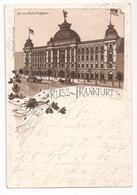 1894 FRANKFURT AM MAIN TO LAHR. Postcard Ansichtskarte To Helene Krauss. Hotel Krauss. - Frankfurt A. Main