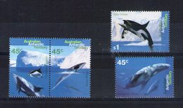 Antarctique Australien. Cétacés - Unused Stamps