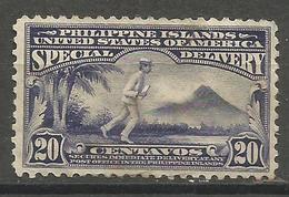 Philippines  - 1919 Special Delivery MH *     Sc E5 - Philippines