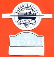 Lot De 2 Autocollants Lancia Champion Safari Lancia Kenya 89 Et Champion Du Monde Des Rallyes - 87-88-89-90 - Chardonnet - Autocollants
