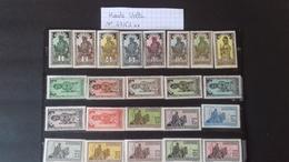 HAUTE VOLTA N°43/63** - Unused Stamps