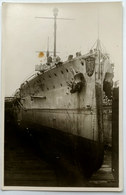 Cartolina Foto Droppel,W-Haven,Rheinstr. 50 - Ostfriesland Im Dock - Guerra