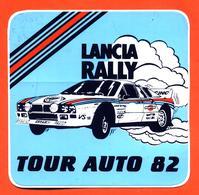Autocollant Lancia Rally Martini Tour Auto 82 - Chardonnet - Autocollants