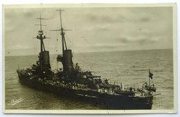 """Cartolina Nave Da Guerra R.N. """"Andrea Doria"""" - Guerra"""