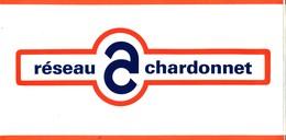 Grand Autocollant Réseau Chardonnet - Lancia - Autobianchi - Autocollants