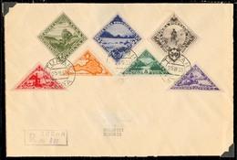 Tannu Tuva. 1935 (25 March). Turan - Hungary / Budapest (12 April 35). Reg Multifkd Env. Arrival Cds. Fine. - Tuva